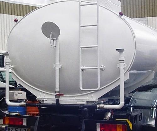 Cisternas Sobre-Chassis para Águas