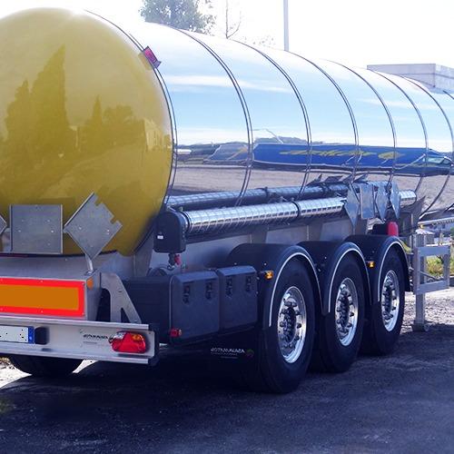 Semirreboques Cisterna para Químicos