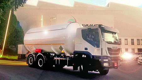 Cisternas sobre-chassis para GPL